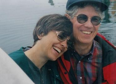 Photo: Marge and Carl Abbott sailing near Bamfield British Columbia